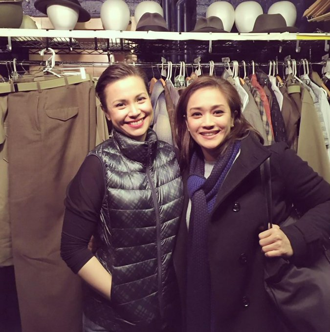 Happy Birthday to Lea Salonga! Here are some photos of her with Joanna Ampil!