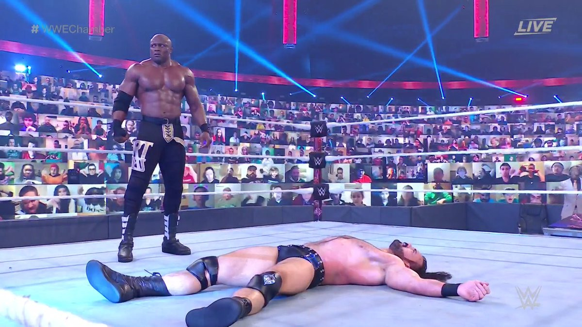 Bobby Lashley Tweets After Elimination Chamber