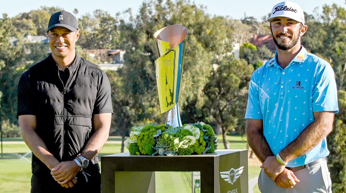 HOMA HIZO REALIZAD SU SUEÑO EN RIVIERA  El estadounidense Max Homa se consagró campeón del Genesis Invitational que concluyó hoy en el Riviera Country Club derrotando en el segundo hoyo de playoff a Tony Finau.https://t.co/quaDoE4NNP https://t.co/Tr1s63x4Xf