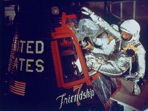59 years ago, @NASA launched one of the most important flights in American history. John Glenn will forever be remembered as the first American to orbit the Earth. His record-breaking flight gave America a shot of self-confidence when we needed it most. 🇺🇸
