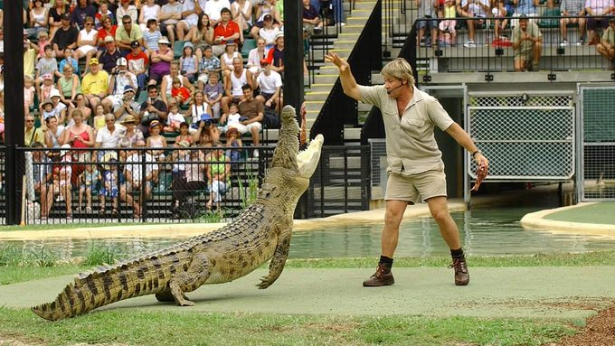 Happy birthday, Steve Irwin