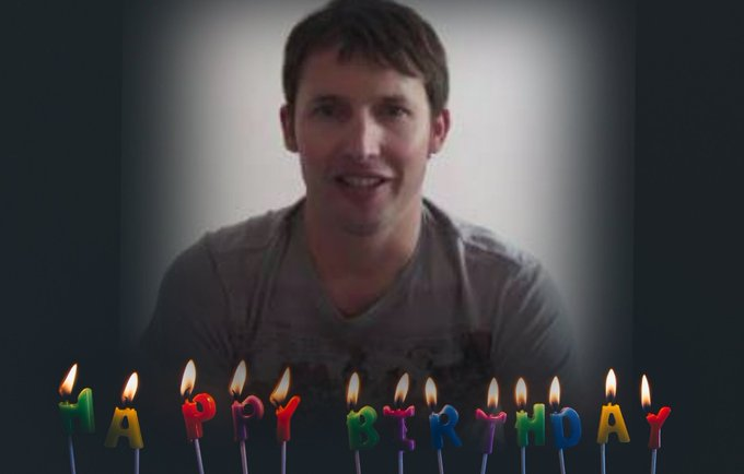 Happy Birthday james  blunt