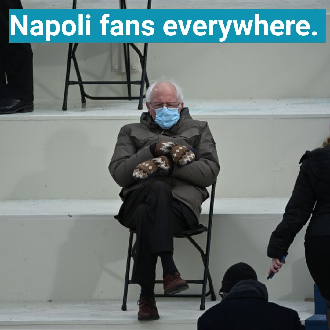 Who knew I would get so much use out of this #Berniememe? #Berniememes #BernieSanders. Post #NapoliAtalanta #ForzaNapoliSempre #SSCNapoli @sscnapoli