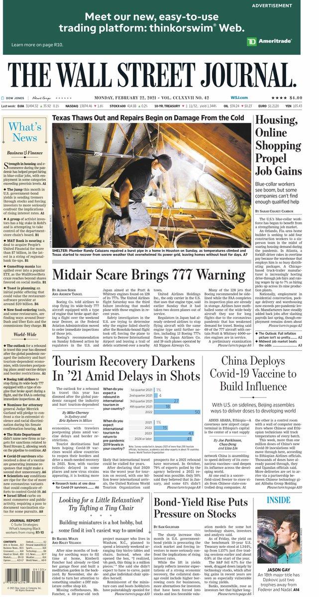 @WSJ's photo on Wall Street