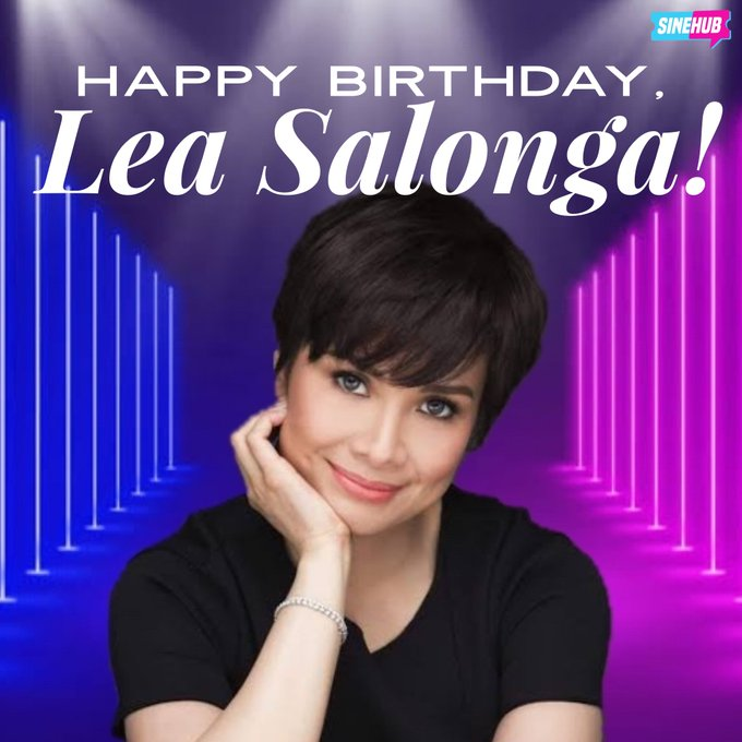Happy birthday to the iconic and forever fabulous, Broadway Diva Lea Salonga!   We purple you,