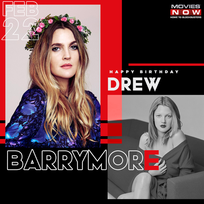 She\s an angel of the movie universe! Happy birthday, Drew Barrymore.