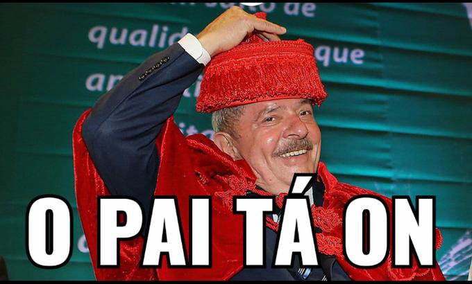Lula inocentado gera pandemia de memes