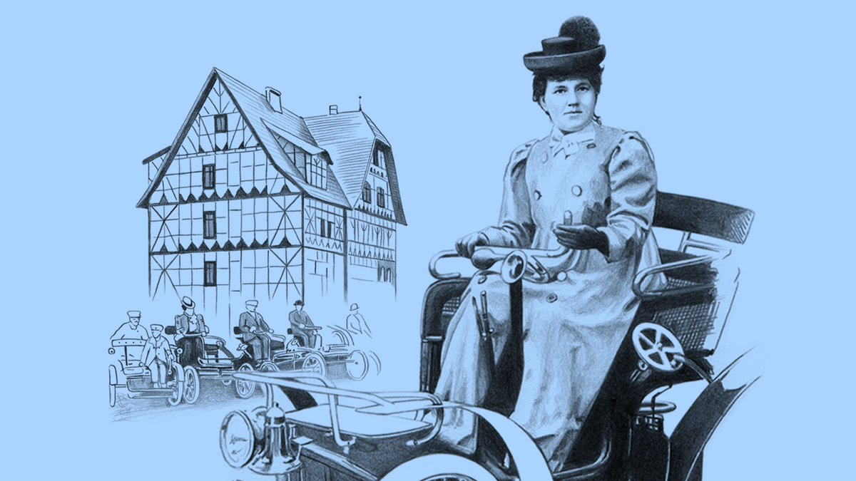 Celebrating the women who changed the world.  Wilhelmine Ehrhardt was a role model of the first German women's movement, a petrol head and race driver.  Meet her at https://t.co/565XFmq4Lx. #InternationalWomensDay #IWD2021 https://t.co/cgG1gdwUf3