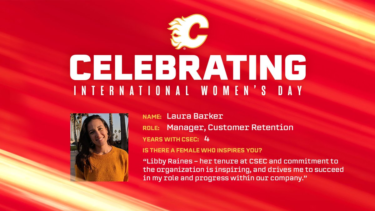 As a part of our #InternationalWomensDay celebrations, were shining a light on the women of CSEC! Customer Retention Manager Laura Barker plays a crucial role for all 4 teams at CSEC: cflam.es/IWD2021