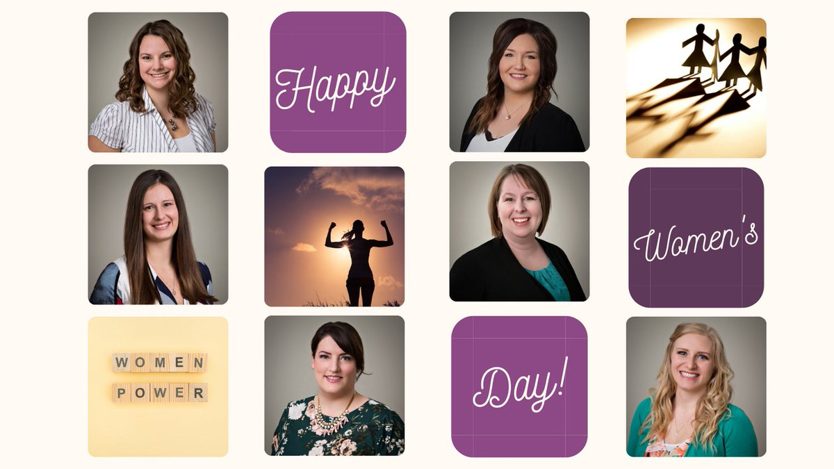 Happy International Women's Day! We are fortunate to have such an impressive group of women at L&A as co-workers and positive role models.  To all the women out there rockin' it as leaders, mothers, volunteers, and community members we appreciate you. You are #amazing!!