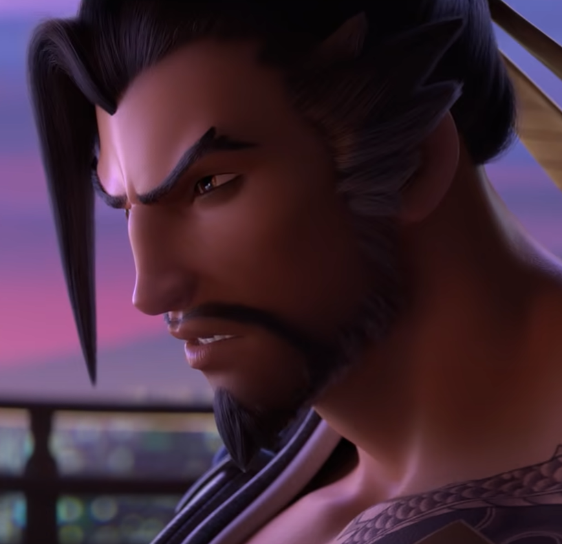 Hanzo is so heart on his sleeve with his emotions it drives me insane