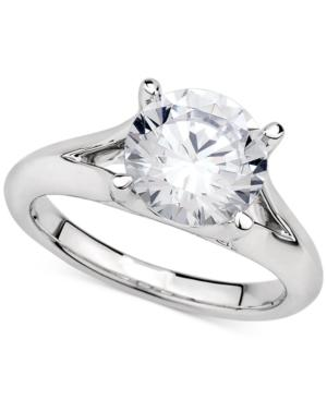 Macy's GIA Certified Diamond Solitaire Ring (3 ct. t.w.) in 14k White Gold selling at $39,000.00 🤯 by Macy's ⏩  🚀 Selling out fast! 🚀#TBT #weekendvibes #Deals