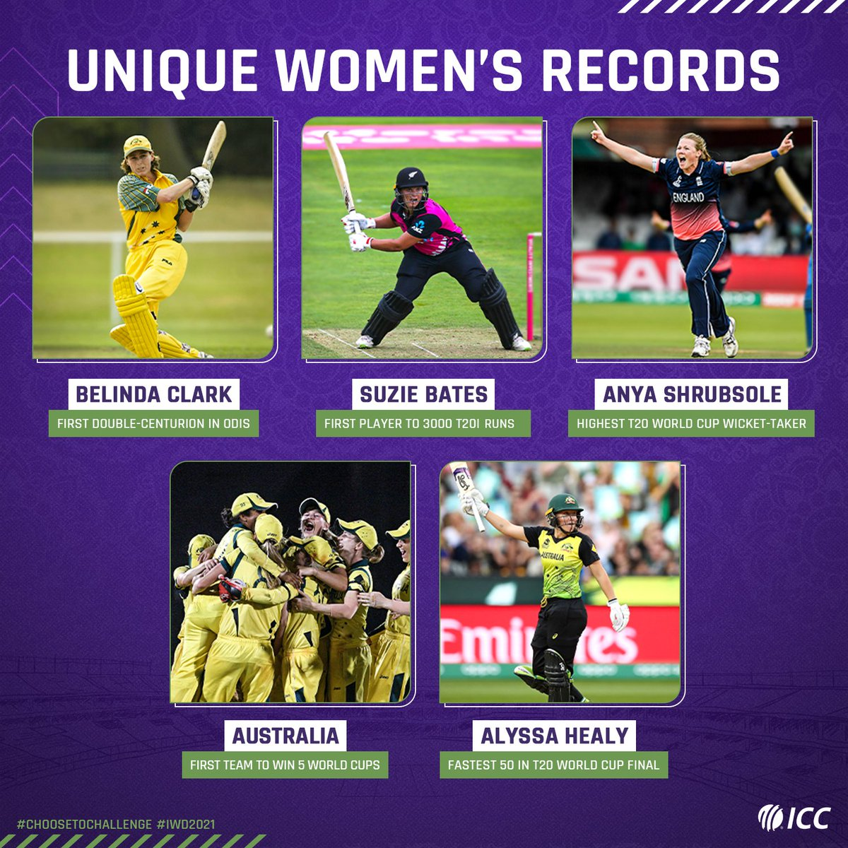 They got there first!  Celebrating Women Power on #IWD21 💪