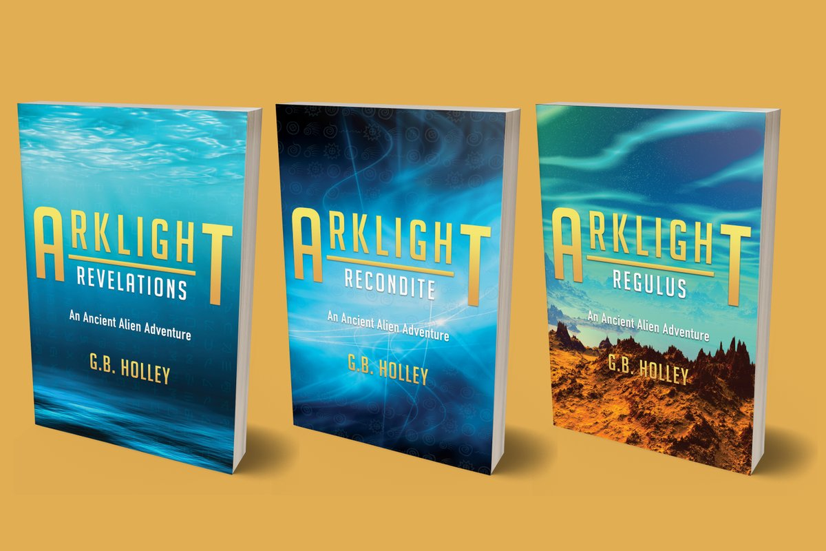 """Legends speak of them. Extraordinary structures have been built to honor them. Have we made contact? We are not alone! The ARKLIGHT Ancient Alien Adventure series. """"A mind-bending conspiracy!"""" #mondaythoughts #writerslift #Romance #WritingCommunity #scifi #writers #books #Reading"""
