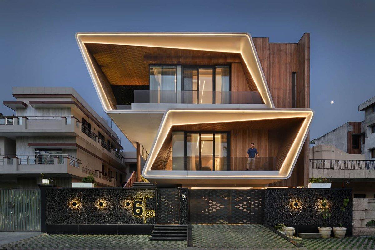 Deep Villa in New Delhi, India designed by Atrey & Associates Read more:  Photography: Bharat Aggarwal #delhi  #india #architect #architecture #amazingarchitecture #house #home #realestate #interiordesign #interiordesigner #newdelhi #indian #interiordesigns