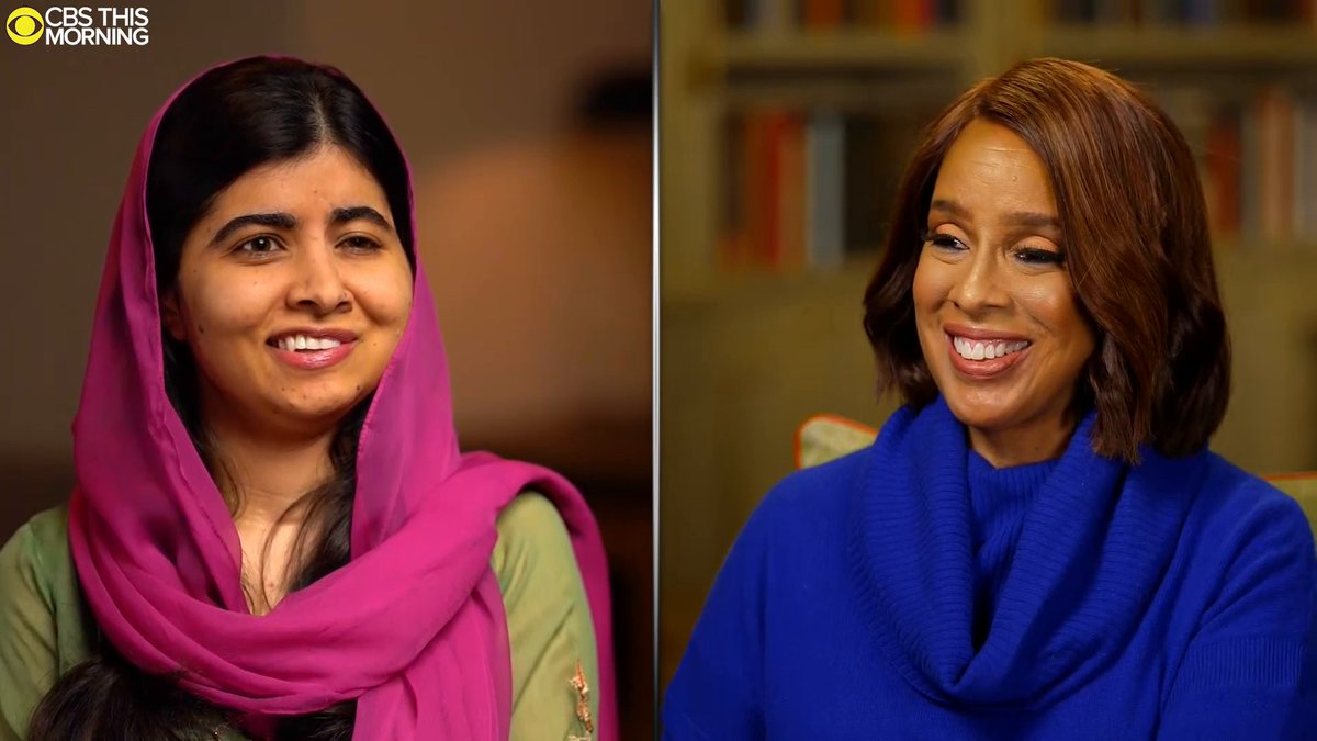 JUST ANNOUNCED: An exclusive partnership between @Malala and @AppleTVPlus.  First on @CBSThisMorning, Malala spoke with @GayleKing about her incredible story and exciting new project. Plus, @Apple's @Tim_Cook tells us why she's the perfect addition for their streaming service.