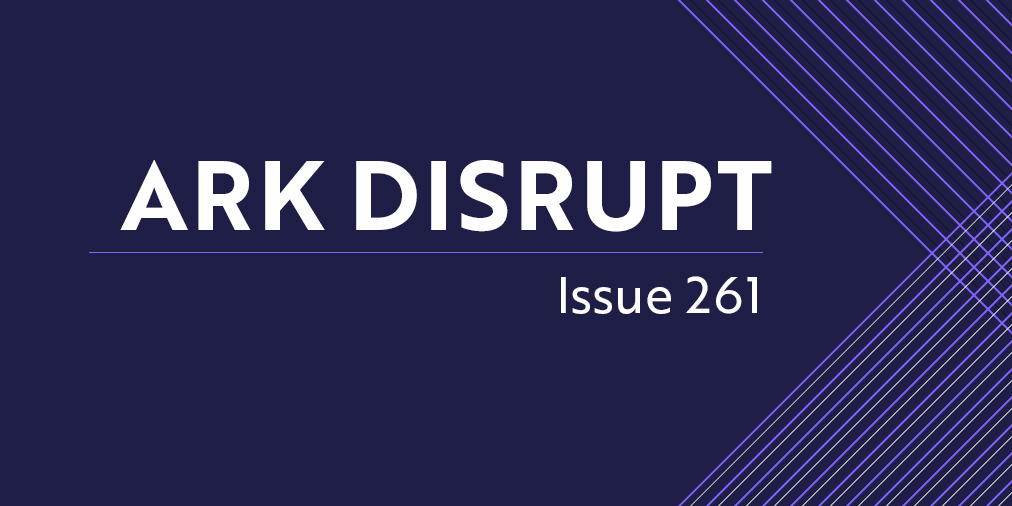 #ARKDisrupt | Issue 261 is live! In this weeks newsletter: Why did Square acquire TIDAL?, creator economy and NFTs, enzymatic DNA synthesis, and more. Read it here! 📰: arkinv.st/3t4VYbJ