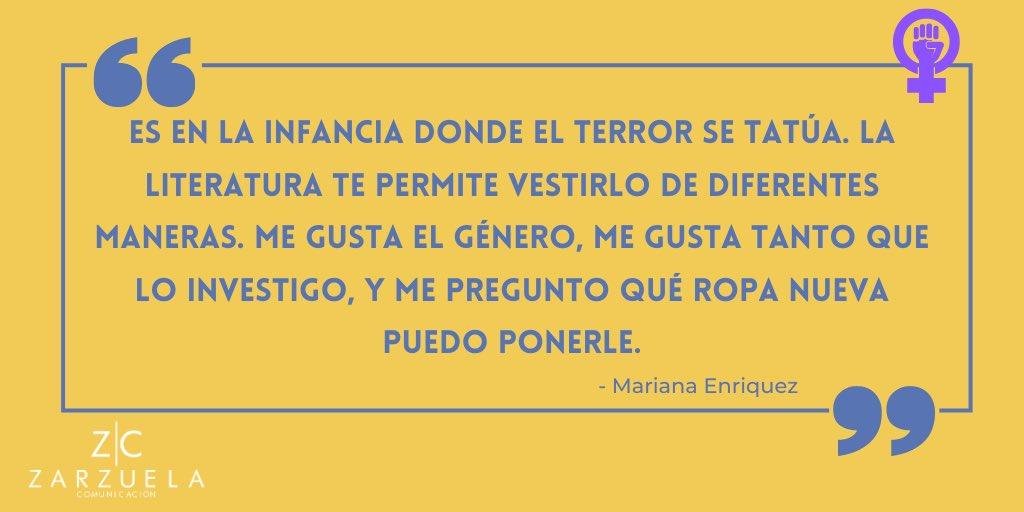 La escritora y periodista Argentina @LaEnriquez1973 despierta a sus lectores a partir de perturbadores relatos. #8M2021