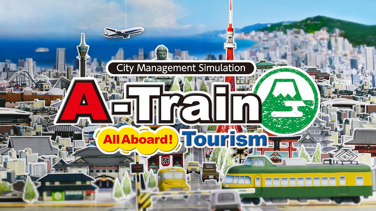 Get your boarding pass ready and create the urban city of your dreams when A-Train: All Aboard! Tourism departs for #NintendoSwitch on March 12!   Download the demo and pre-order today: