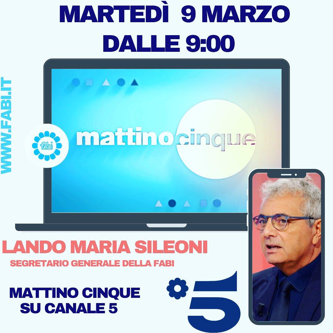 #Mattino5