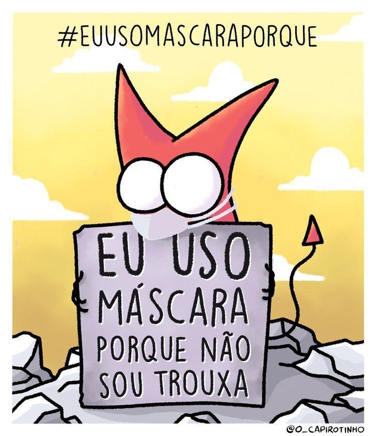 O @mundano_sp me convidou pra participar dessa corrente. Então tá aí meu motivo.  #EuUsoMascaraPorque https://t.co/2VbiV0Zvtq
