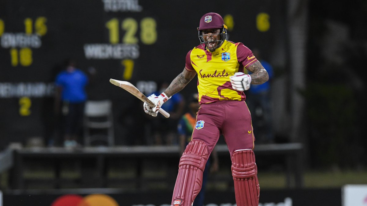 🔥 1/13 with the ball 🔥 21* off six with the bat  How amazing was @FabianAllen338 in the third #WIvSL T20I 🤩  He was named the Player of the Match!