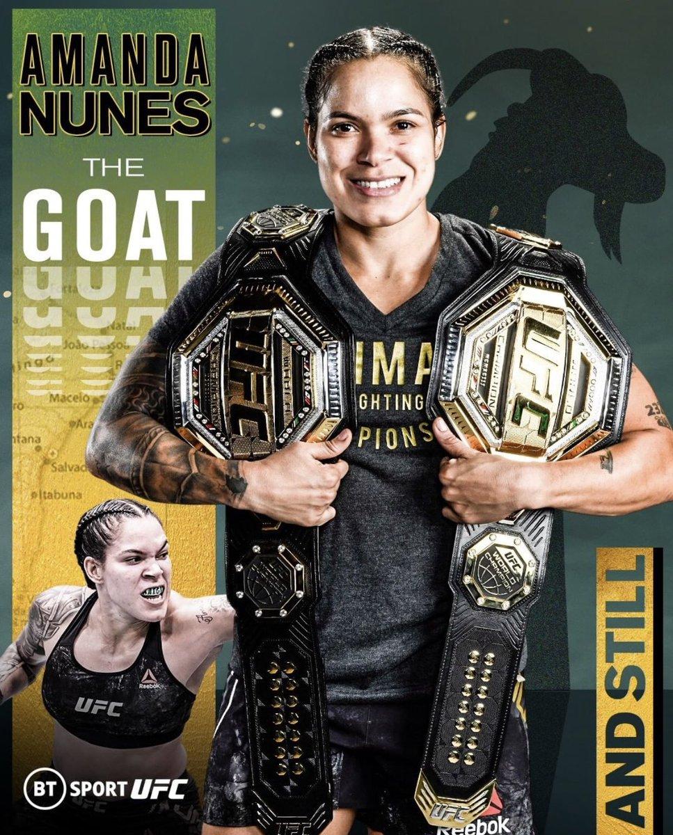 🐏 𝔾.𝕆.𝔸.𝕋 🐏 @Amanda_Leoa   #UFC #danawhite #amandanunes #combatsports #goat #brasil #brasil🇧🇷 #usa #amazing#conormcgregor  #ko #fight #baston #boxing #mcgregor #mma #mmafighter #mmatraining #IWD2021
