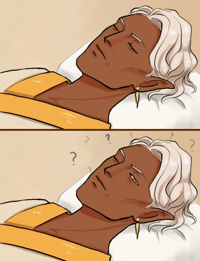 tfw people you barely tolerate crash your place then leave your unconscious body with Empire assassins   #Criticalrole #criticalrolespoilers #criticalrolefanart #yussa