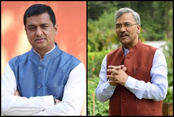 Amid the political storm brewing in the Capital triggered by dissenting MLAs in #Uttarakhand, chief minister @tsrawatbjp met @anil_baluni, #RajyaSabha MP from the state and National media in-charge of the Bharatiya Janata Party (@BJP4India) in #NewDelhi on Monday evening.