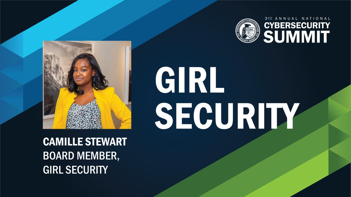 On #InternationalWomensDay, were thinking back to last years National Cybersecurity Summit where Camille Stewart of @GirlSecurity_ discussed how the #Cybersecurity & tech space needs to continue to build a more diverse workforce: go.usa.gov/xsmbZ #WomensHistoryMonth