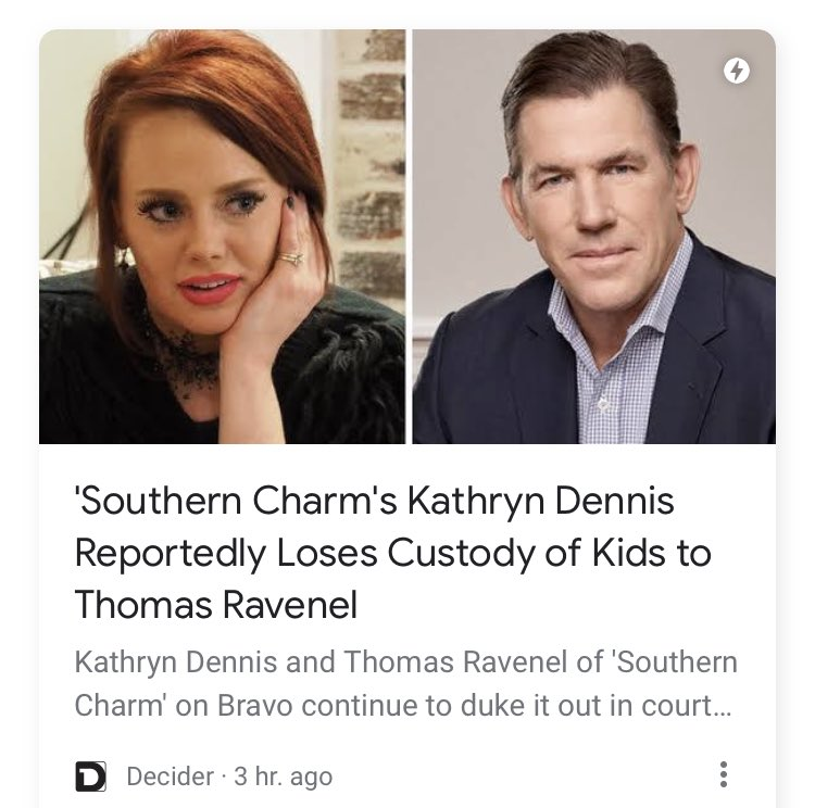This is why u don't have kids with narcissists like Ravenel cuz they will do anything from making up lies to stealing your children to killing u so they have the children themselves & everything in between! Didn't Thomas rape someone & get away with it with cash?! #SouthernCharm