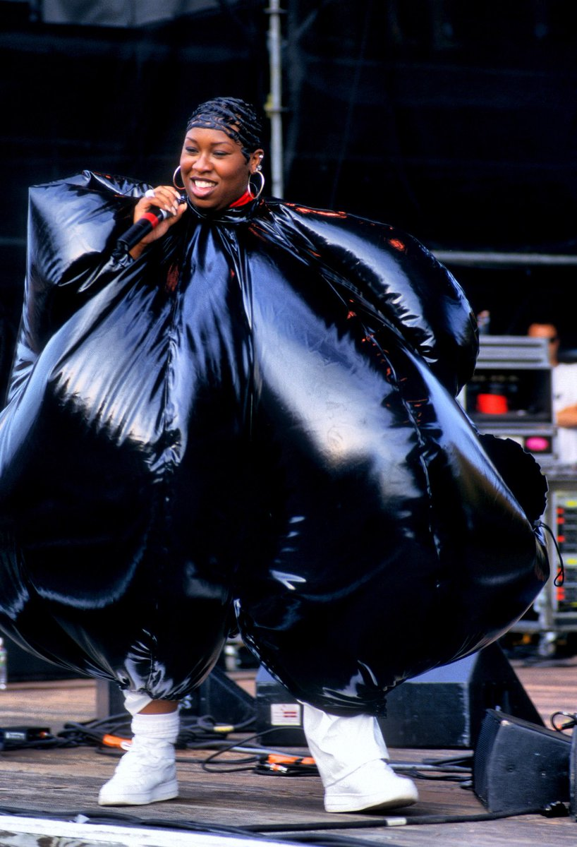 @thegumbo .@MissyElliott forever and ever! from production to lyricism to fashion to visuals, her creativity knows no bounds. she is the best, and no one is seeing her in a #VERZUZ!!!