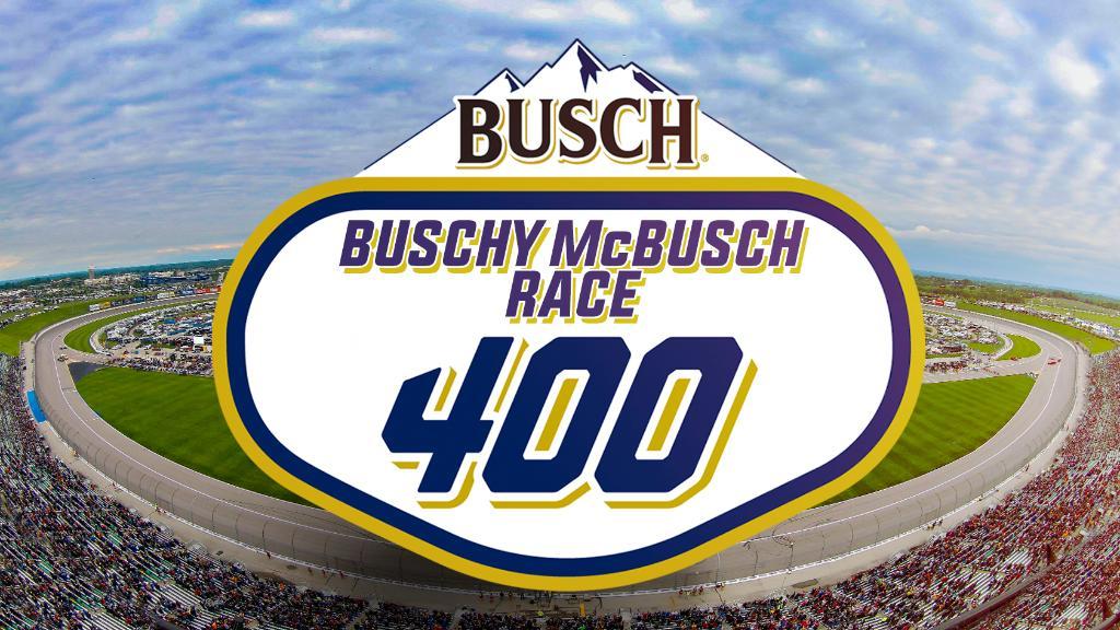 @BuschBeer @NASCAR @kansasspeedway Bushy mcbush race 400 it's got to be the winner #BuschContest