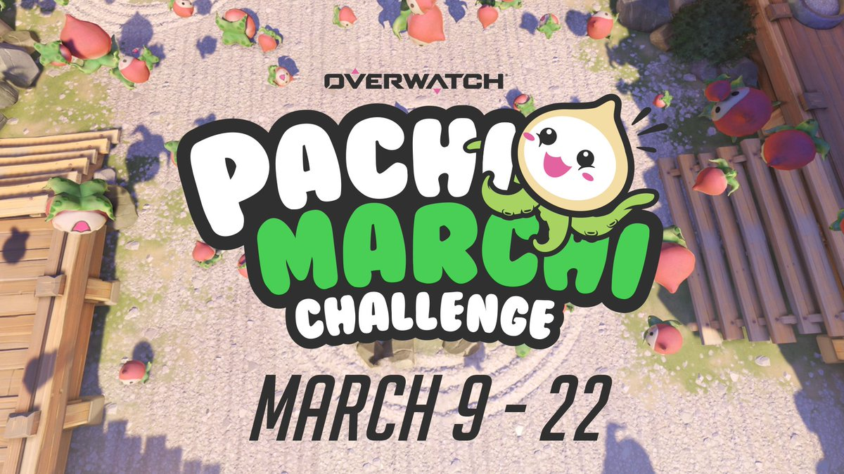 Set up for a sizzlin' cephalopod showdown. The #PachiMarchi Challenge begins March 9!