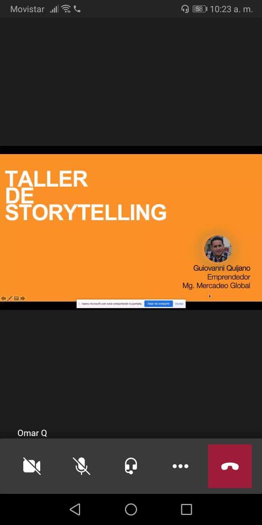 Hoy en mi clase de #Storytelling tuvimos las bases de conocer el poder de las HISTORIAS para crear un #producto o un #servicio que conecte mucho más con tus #clientes.