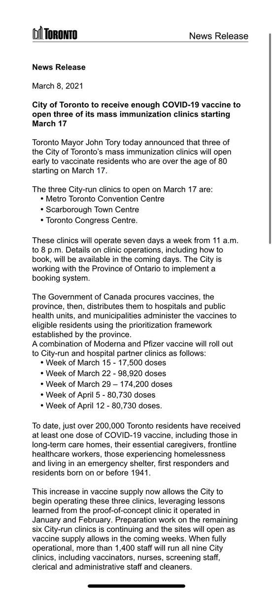 Book Vaccine Toronto Convention Centre : Mass Coronavirus Vaccination Clinic At Toronto ...