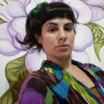 Image for the Tweet beginning: Marcela Palermo: arte con planteos
