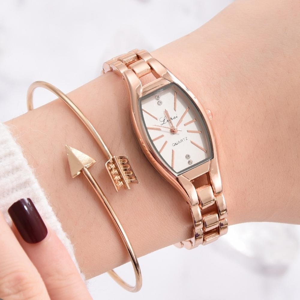 Women's Elegant Chain Bracelet Quartz Watches #igers #tagsforlikes