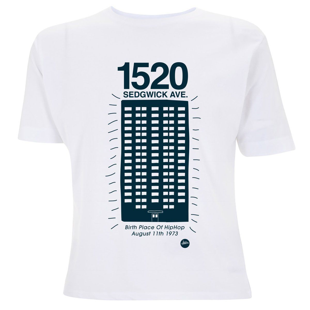 LOW STOCK! Celebrating the birthplace of #HipHop This classic is back in 2 New Colourways... 1520 Sedgwick Ave Design >> Available to order here >>   << #KoolHerc #Bronx #NewYork #Fashion #Clothing #Design #FridayFeeling RT
