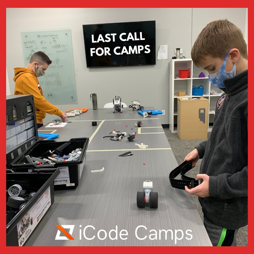 Today is the LAST DAY to register for our Spring Break Camp: Battle of the Robots! ⬇ Click below to register now: ⬇ ...   #iCode #PlanoTX #STEM #Steam #coding #codingisfun #Robotics #BattleBots #springbreak2021