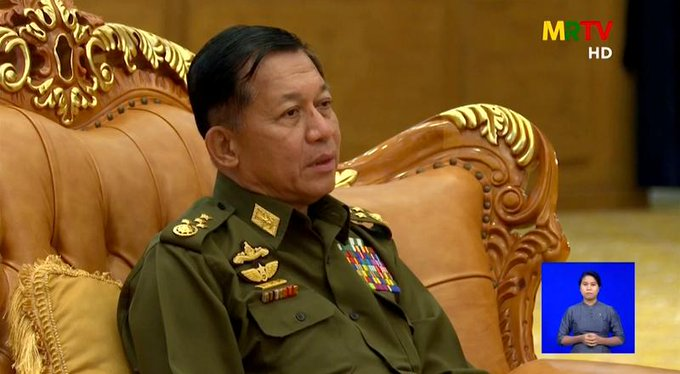 Lobbyist says Myanmar junta wants to improve relations with the West, spurn China Photo
