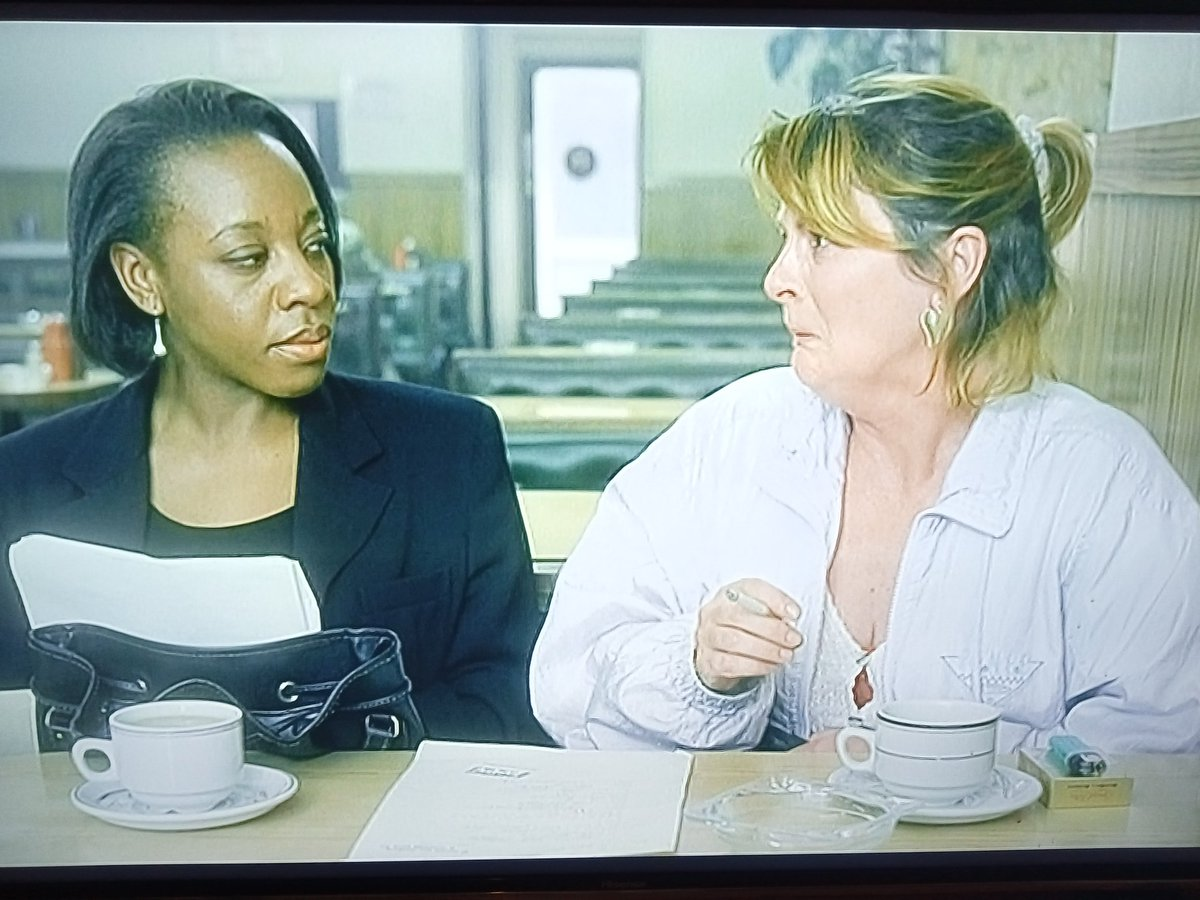 #FilmTwitter #SaturdayMotivation  #SaturdayThoughts  #saturdayfeeling  One of THE scenes of one of THE films of 20th century British cinema.  If you've not seen Secrets & Lies please do.   Marianne Jean-Baptiste and Brenda Blethyn are both heartbreakingly brilliant.
