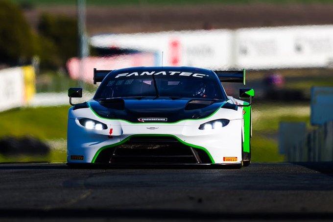 Time for the Aston Martin…