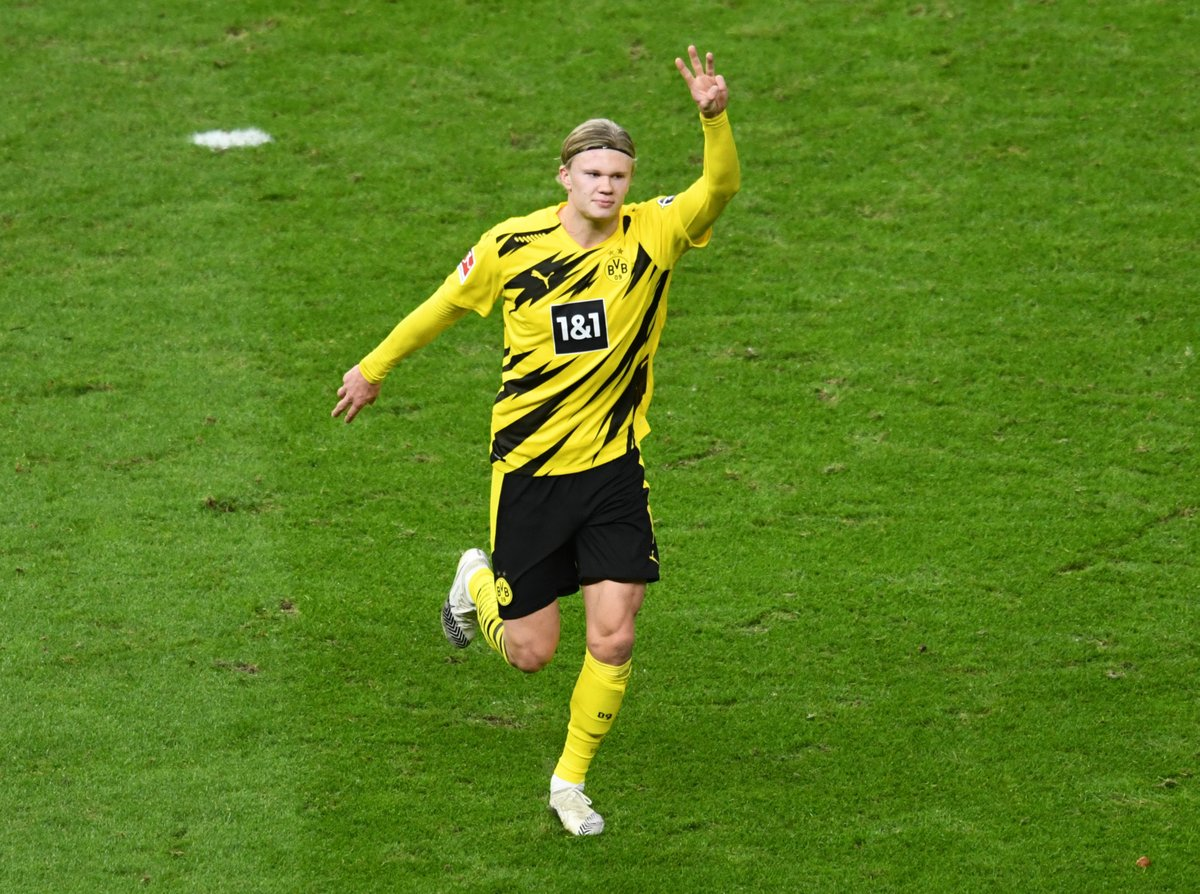 It took Erling Haaland less than 90 seconds to score against Bayern 🤖