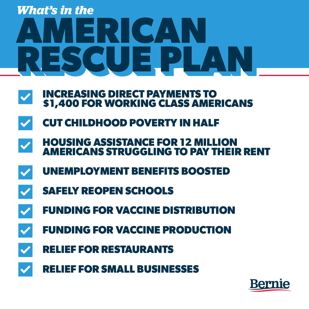 The American Rescue Plan is the most significant piece of legislation to benefit working people in the modern history of this country.