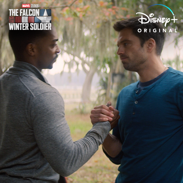 """Let's get to work 👊 Marvel Studios' """"The Falcon and the Winter Soldier"""" starts streaming March 19 on #DisneyPlus. #FalconAndWinterSoldier"""