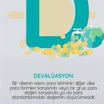 "Image for the Tweet beginning: Ekonomi Alfabemize ""D"" harfiyle devam"