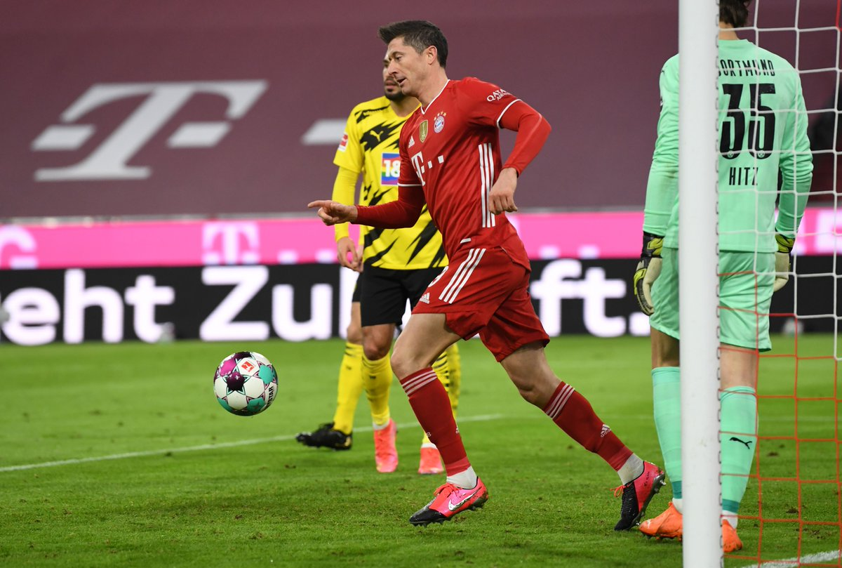 Lewandowski 2-2 Haaland