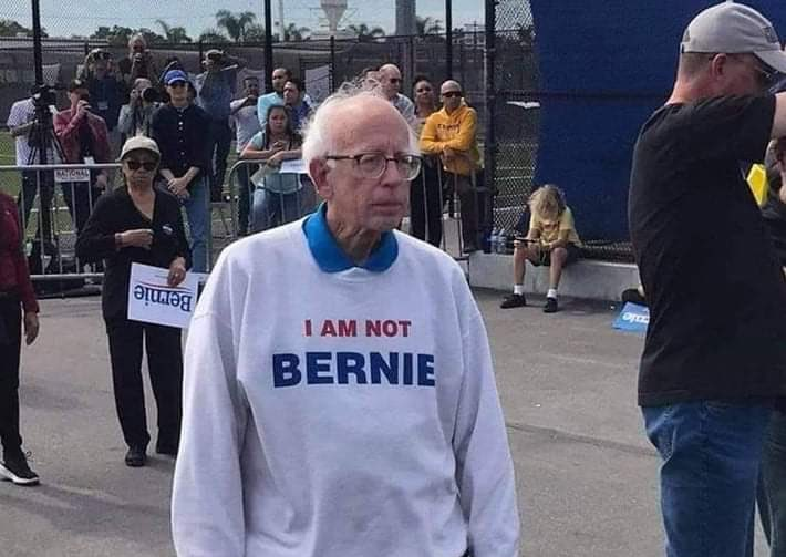 Where is #Bernie Sanders?
