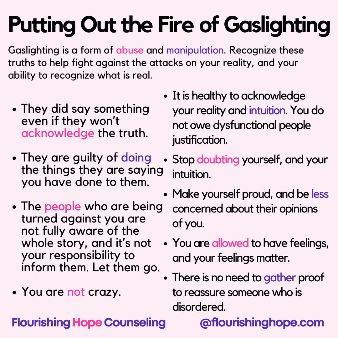 Gaslighting is a form of abuse and manipulation. Often people will questions themselves, their reality, and begin to wonder what was real. This is unsettling. #gaslighting   #emotionsallovertheplace #emotionalabuse #betrayaltraumarecovery #narcissisticabuse #toxicpeople #selfcare